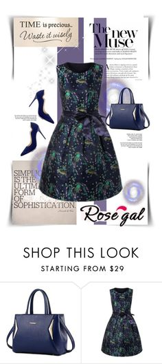 """""""Rosegal 57"""" by marinadusanic ❤ liked on Polyvore featuring vintage"""