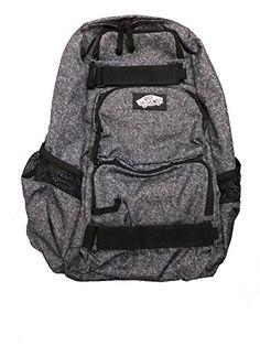 82eb04724b Amazon.com  Vans Mens Backpack Skate Bag Treflip Dark Grey VN-0OKIE86  School Bag  Sports   Outdoors