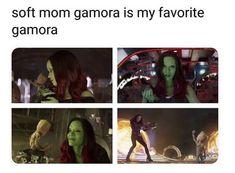 The cutest moments of Groot and Gamora Funny Marvel Memes, Marvel Jokes, Dc Memes, Marvel Comics, Marvel Heroes, Marvel Avengers, Bucky, Loki, Guardians Of The Galaxy