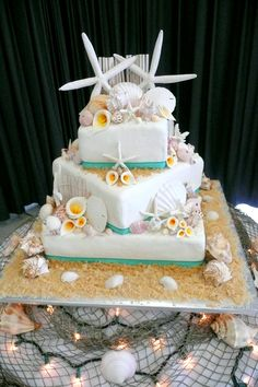 beach themed wedding cake table 1000 images about weddings that i on 11152