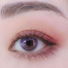 makeup looks easy makeup 2018 trends eye makeup to eye Jaclyn Hill Palette Looks allergic Easy Eye Makeup Trends Kawaii Makeup, Cute Makeup, Makeup Looks, Asian Makeup Tips, Korean Makeup Look, Korean Natural Makeup, Anime Eye Makeup, Kiss Makeup, Makeup Art