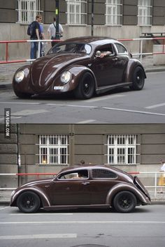 Chop Top Beetle Puts a Modern Twist on the Classic Vehicle, Complete with Wide Fenders Combi Wv, Vw Rat Rod, Kdf Wagen, Vw Vintage, Buggy, Vw Beetles, Car Photos, Amazing Cars, Hot Cars