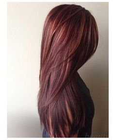 long hair styles for women .Like the cut