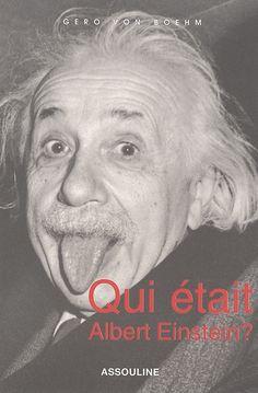 """530.092 BOE - Qui était Albert Einstein ? / Gero von . Boehm . """" Il voulait percer le secret du monde et de l'univers. Il y est en partie parvenu et a donné corps à des visions et des rêves de l'humanité. Sa pensée et sa personnalité n'ont pas fini de nous fasciner. Pourtant Einstein a aussi mis son génie au service du mal, en prenant position en faveur de la bombe atomique."""""""