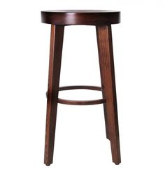 Innsbruck Bentwood Barstool 75cm - Walnut | ZUCA | Homeware, Chairs, Replica Furniture, Barstools & Office Furniture in Wellington, New Zealand
