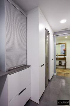 En esta cocina creamos un ambiente con un toque nost lgico for Persiana mueble cocina ikea
