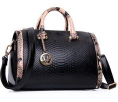 2015 new Fashion PU leather bag ladies Serpentine tote Shoulder bag handbags women famous brands Bag Women bag a22