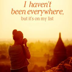 I on my way, travel is amazing.  like our page, also invite your friends to like our page & share posts. http://pinterest.com/travelfoxcom/pins/