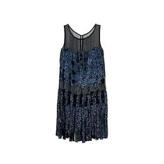 Kate Moss Topshop Chiffon Flapper Dress ❤ liked on Polyvore featuring dresses, vestidos, flapper, blue flapper dress, gatsby dress, chiffon dress, flapper dress and flapper inspired dress