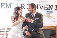 Thomasin and Stefan-2016- Post wedding beer at Flying Bike Brewery-#phinneywood #urbanlightstudios #seattle #seattlewedding #flyingbikebrewery