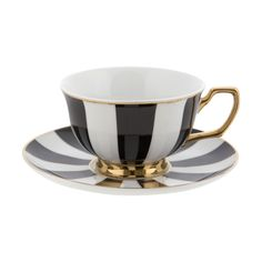 Experience High Tea in style with our core collection of Signature teaware. This exquisite range is available in delicate pastels, traditional black and white, polka dots and stripes. This classic mix and match range is perfect for those who appreciate fine design and love to collect vintage inspired teaware to decorate their abode and entertain their fanciful guests.
