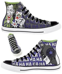 This is a new series of Converse x DC Comics shoes, with five of the eleven designs being exclusive to Journeys. Which, I'm not gonna lie, is where I bought my last pair of Onitsuka Tigers. Unless that makes...