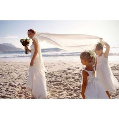 Inspiration for your beach wedding ❤ liked on Polyvore featuring wedding
