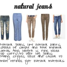 Natural ~ expressing your truth closet Source by casual outfit fall Fall Jeans, Summer Jeans, Thing 1, Kate Spade Saturday, Soft Summer, Signature Style, Jeans Style, Fashion Tips, Fashion Trends