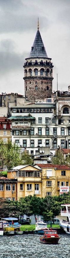 Galata Tower, Istanbul, Turkey #kitsakis
