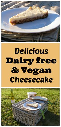 This easy, no-bake vegan cheesecake is perfect for adding any topping to.
