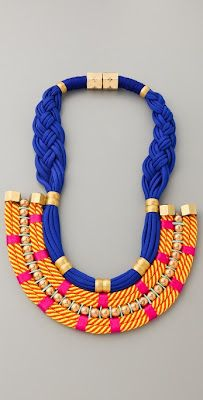 Trend-Spotting: Colorful Statement Necklaces (featuring Holst + Lee)