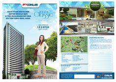 Campanha Vita Classic - Conlar. Campanha completa com Panfleto A4, Folder de Vendas, Anuncio 1 Pag Jornal, VT e Banner Internet.