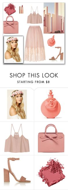 """Irresistible"" by emina-la ❤ liked on Polyvore featuring Ricardo, Forever 21, Charlotte Tilbury, Valentino, TIBI, Mansur Gavriel, Barneys New York, Bobbi Brown Cosmetics and Miss Selfridge"