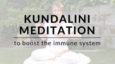 Practice this Kundalini Yoga meditation to boost your immune system and balance the distribution of the red and white blood cells. This Kundalini Meditation . Kundalini Meditation, Weak Immune System, Yoga Youtube, How To Relieve Headaches, Self Massage, Online Yoga, Pranayama, Yin Yoga, Yoga Videos