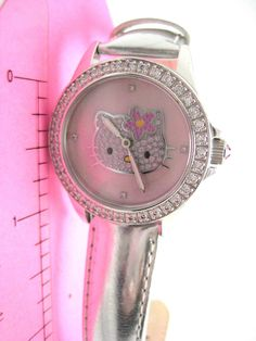 #hellokitty #watch #fashionista #diamonique #qvc WOW --- this SAME watch is being offered by Kimora for OVER $1000!!  Crazy... Same watch here - less than $200 - FREE U.S. Shipping... Meow xox