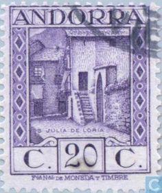 Andorra - Spanish - Local motives 1929