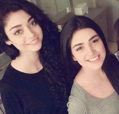 Pretty sisters Sarah khan n Noor khan