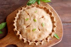 Roasted Vegetable Pie with Double Spelt Crust