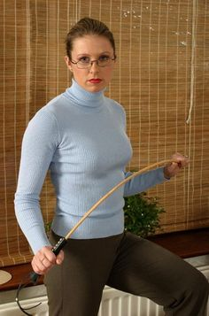 """This time, it's going to be The Cane"" Photo - SpankingTube.com"