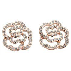 Lekani 18K Fashion Rose Gold Flower Style SWAROVSKI ELEMENTS Drop Earring Lekani. $7.08. Weight7g. Gold-filled. Noble. MetalStamp:18K. Fashionable