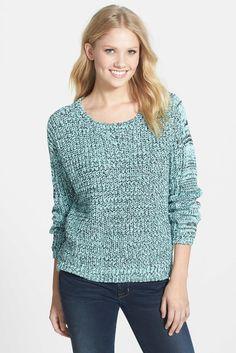 Marled Mix Stitch Pullover