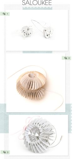 Paper Jewelry by Saloukee
