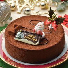 一味違うクリスマスケーキとろける「チョコムース」|美味しそうなスイーツ・ケーキ写真日記