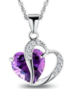 Only $9.47, that's a saving of $15! Super stunning silver heart pendant with gemstone. The perfect gift for a special occasion. Shop24seven365! Available in several colours. For more information, or to purchase, visit www.shop24seven365.com.au