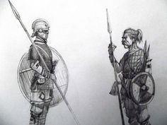 late roman infantry/germannic infantry