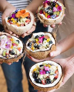 Pin for Later: 17 Coconut Shell Smoothie Bowls That Will Change Your Idea of Breakfast Forever