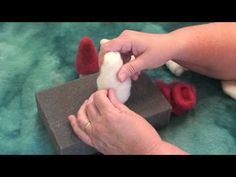 Needle Felting Gnome Tutorial.....This is a great one for beginners!