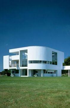Saltzman House, East Hampton, New York by Richard Meier Architect :: 1967-1969