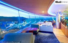 Hotel imita navio de cruzeiro na Coreia do Sul
