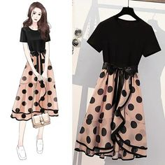 Kpop Fashion Outfits, Girly Outfits, Cute Fashion, Modest Fashion, Fashion Drawing Dresses, Fashion Illustration Dresses, Fashion Dresses, Fashion Design Drawings, Fashion Sketches