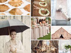 {autumn} rustic fall barn wedding inspiration
