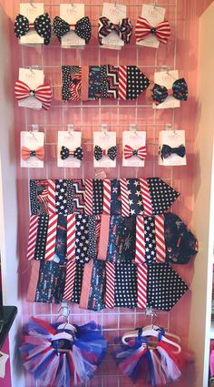 Patriotic Dog Accessories, Dog Bandanas, Dog and Cat Bow Ties, Dog tutus...Celebrate the entire summer, 4th of July, Memorial Weekend and Labor Day Weekend