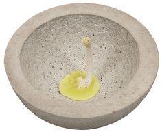Citronella Kerze aus Kreativ Beton   buttinette Blog