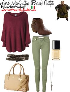 """""""Lord MacGuffin (Brave) Outfit:"""" by martinafromitaly ❤ liked on Polyvore"""