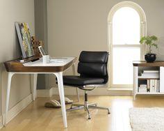Фото из статьи: Где в квартире сделать офис: 5 идей и 10 примеров