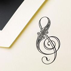 Tattoo Idea! very different from the usual treble and bass clef tattoos