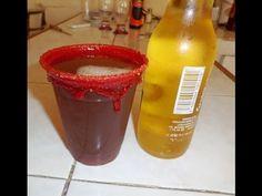 Michelada con Chamoy ( deliciosa y refrescante )- PORQUE SE ME ANTOJA - YouTube
