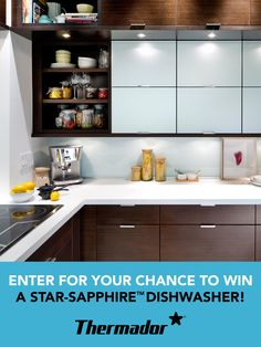 Enter for your chance to WIN one of two Thermador Star-Sapphire™ dishwashers! #Contest open to residents of Canada only. Contest closes October 31, 2015.