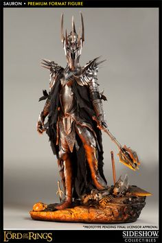 Premium Format Figure Sauron from Sideshow collectible #Lordoftherings