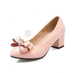 Women's Shoes Chunky Heel Heels / Basic Pump / Round Toe Heels Office & Career / Party & Evening / Dress 2017 - $26.99